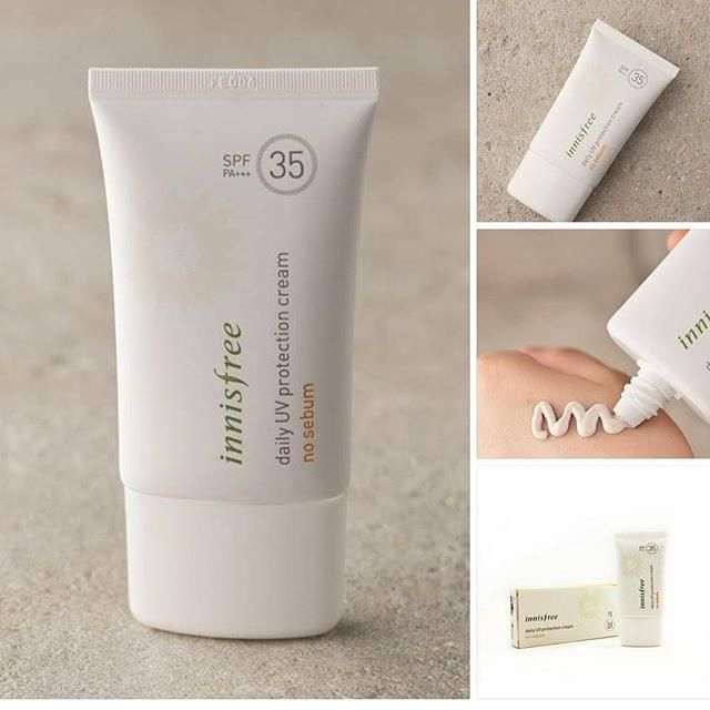 Kem chống nắng Innisfree No Sebum Daily UV Protection Cream SPF 35 PA+++