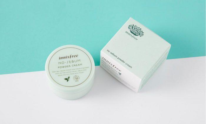 Kem Dưỡng Kiềm Dầu Innisfree No Sebum Powder Cream