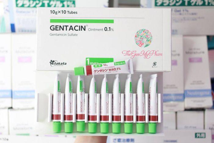 Kem Trị Sẹo Gentacin ointment 0.1% của Nhật