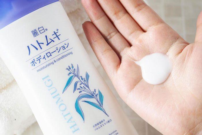 Sữa dưỡng thể chống nắng Hatomugi UV Milky Gel SPF31/PA+++