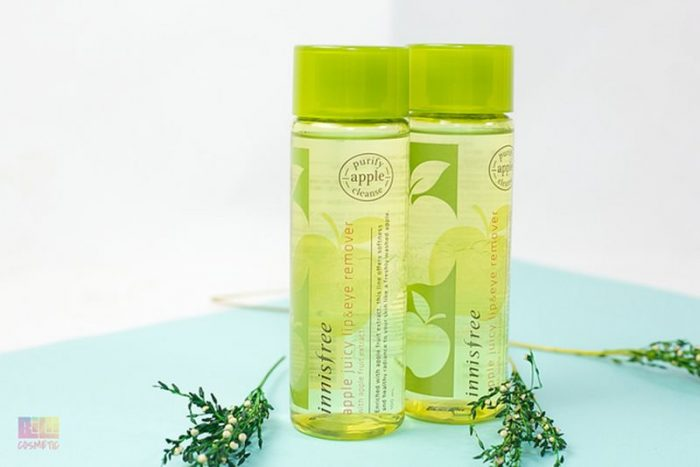 Tẩy trang mắt môi Innisfree Apple Juicy Lip Eye Remover