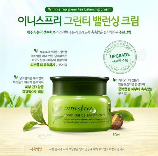 Innisfree-Green-Tea-Balancing-cream-10