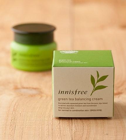 Kem dưỡng trà xanh Innisfree Green Tea Balancing Cream 50ml