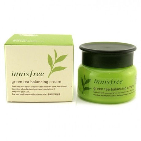 Innisfree-Green-Tea-Balancing-cream-8