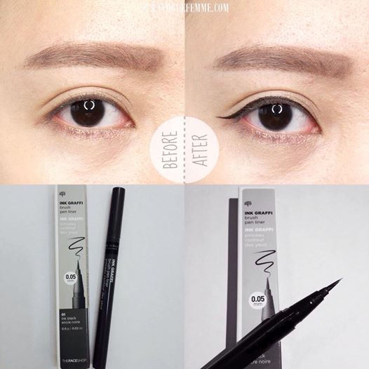 Bút Kẻ Mắt Nước The Face Shop Ink Graffi Brush Pen Liner