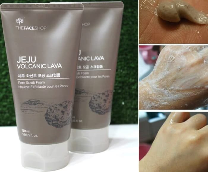 Gel Lột Mụn The Face Shop Jeju Volcanic Lava Peel-Off Clay Nose Mask
