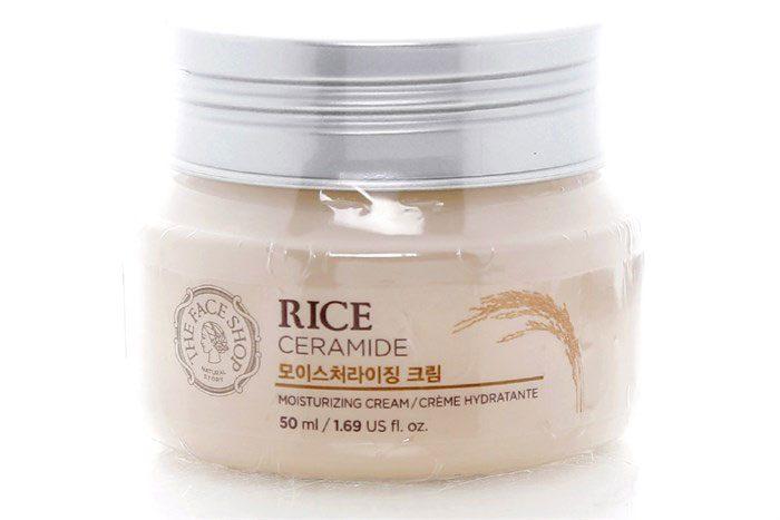 Kem Dưỡng Ẩm The Face Shop Rice Ceramide Moisturizing Cream