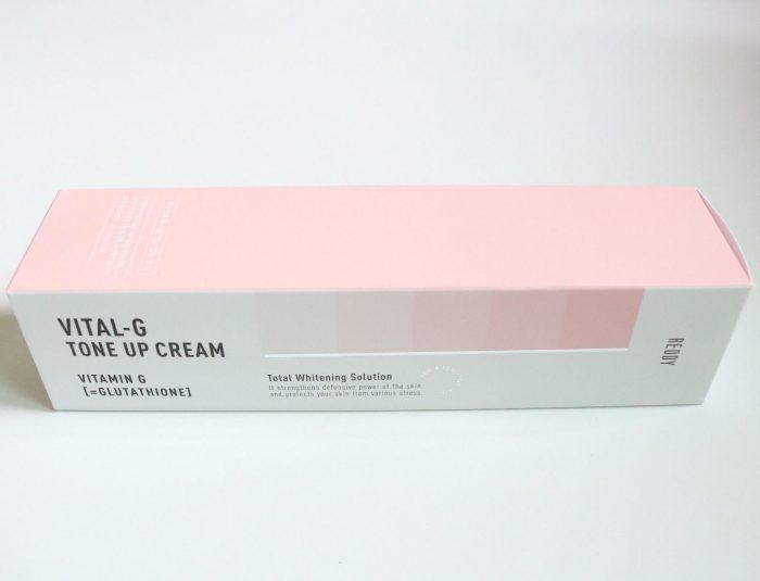 Kem Dưỡng Trắng Da Reddy Vital-G Tone Up Cream
