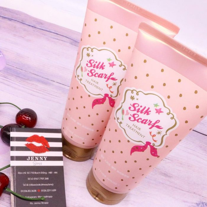 Kem Ủ Tóc Etude House Silk Scarf Hair Treatment