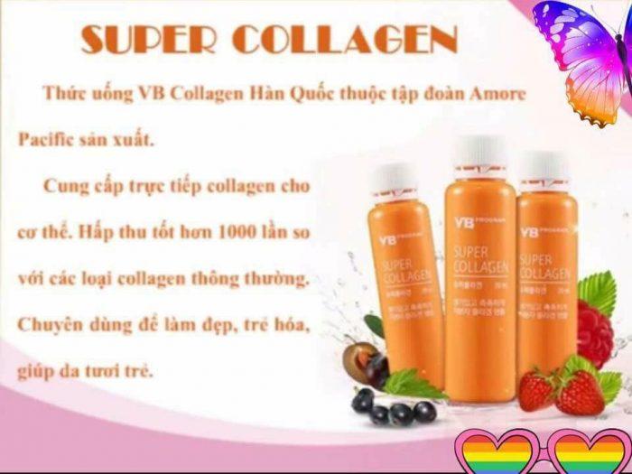 Nước Uống Collagen VB Program Super Collagen