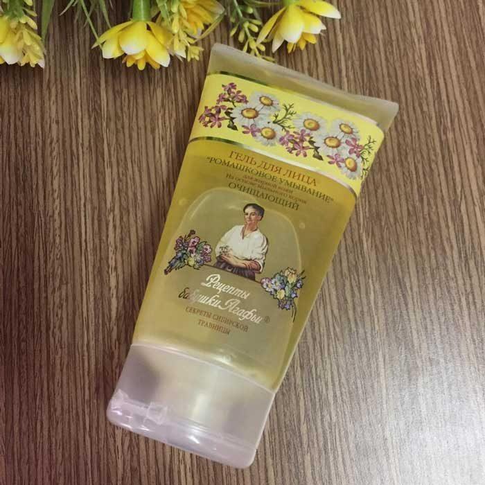 Sữa rửa mặt bà già Nga AGAFIA