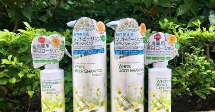 Sữa tắm trắng Manis White Body Shampoo 450ml