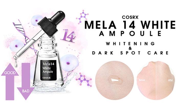 ... Serum Corsx Mela 14 White Ampule ...