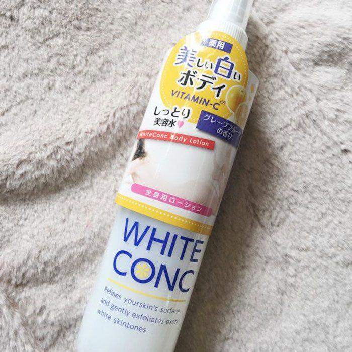 Xịt Dưỡng Trắng Da White Conc Body Lotion Vitamin C