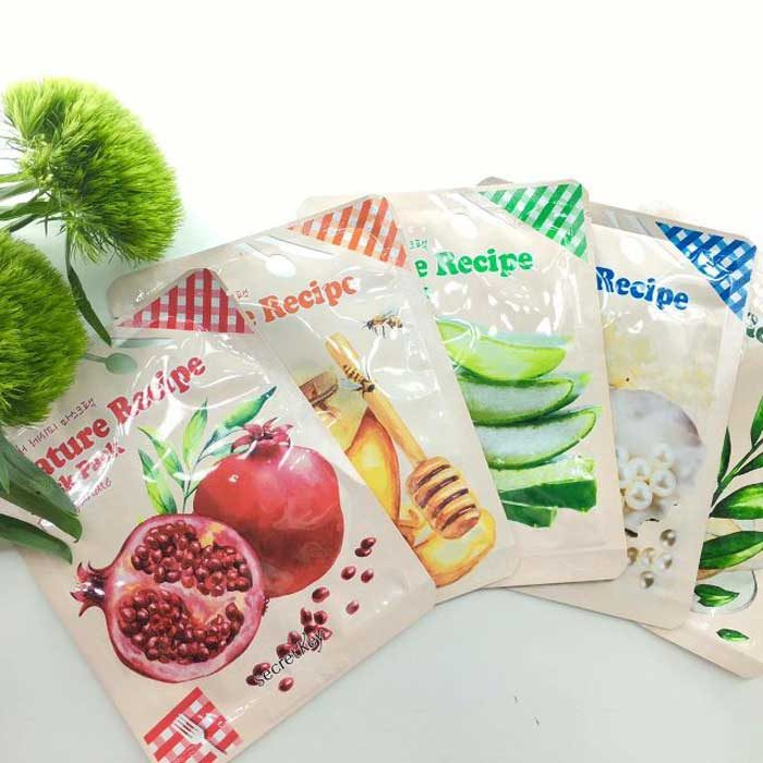 Mặt nạ Secret Key Nature Recipe Mask Pack