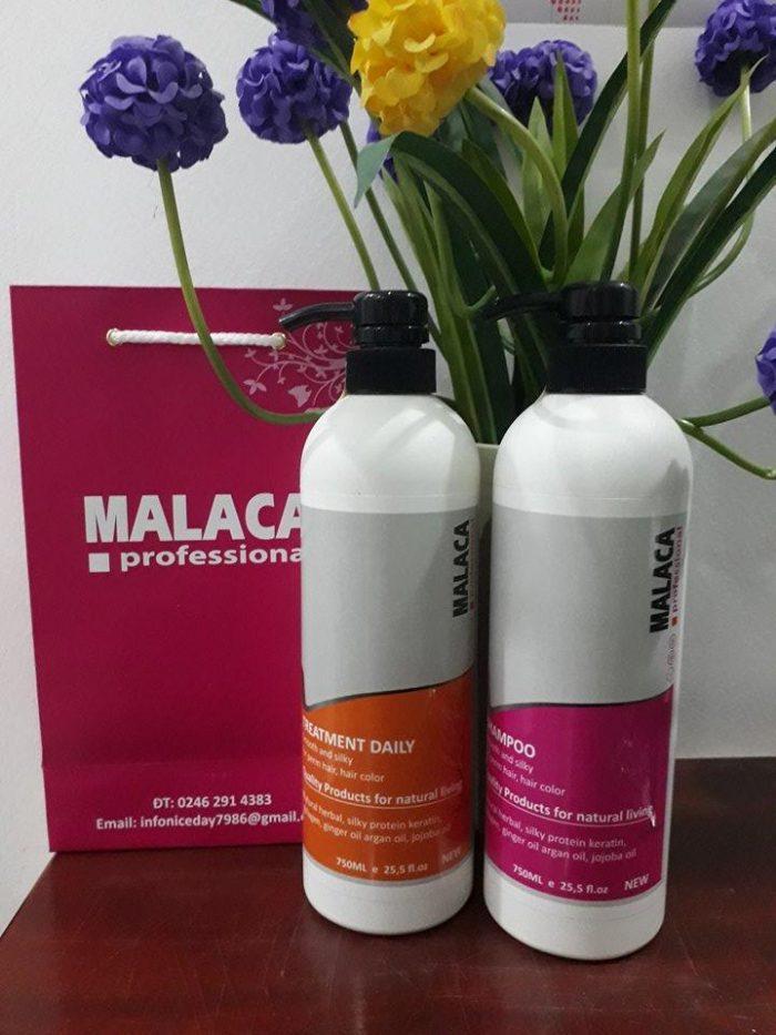 dầu gội malaca zenzero collagen