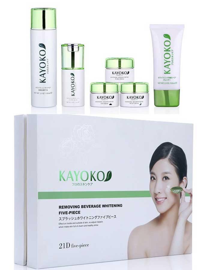 Bộ mỹ phẩm KAYOKO 6in1 trị nám Nhật Bản