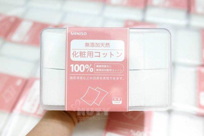 Bông Tẩy Trang Miniso 1000 Miếng