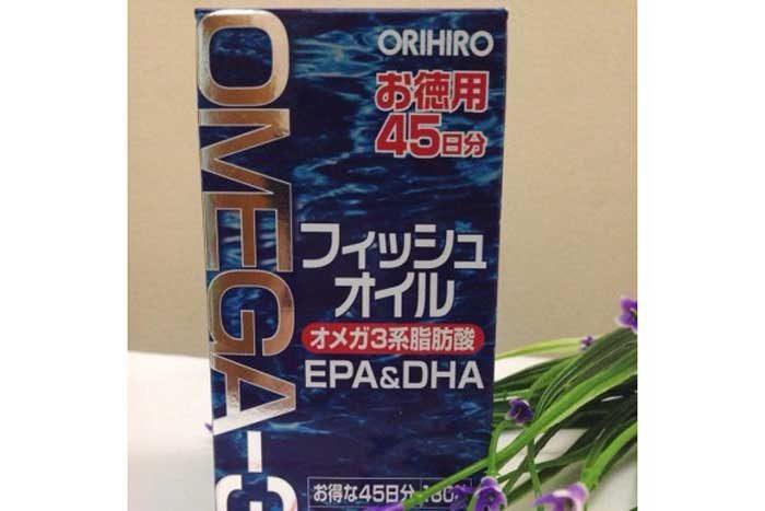 dầu cá Omega 3 Orihiro 180 viên