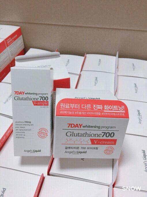 Kem 7 Day Whitening Program Glutathione 700 V-Cream