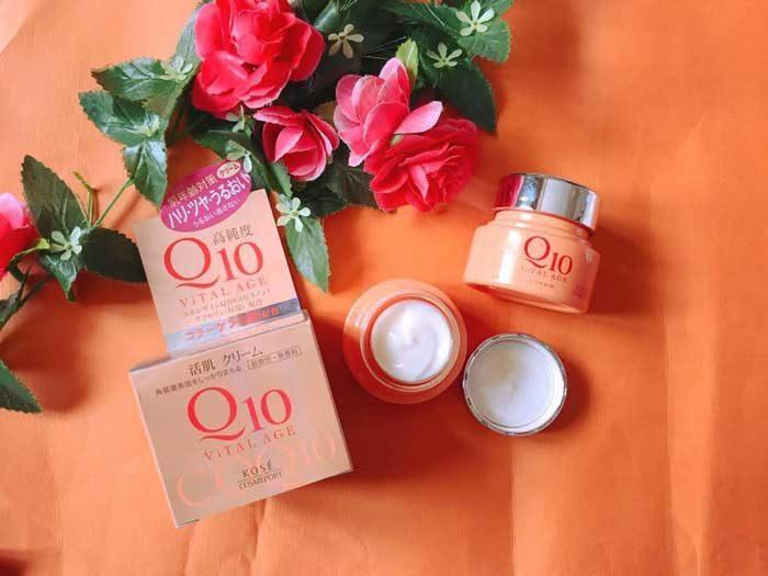 Kem dưỡng da chống lão hóa Kose Q10 Kose Vital Age