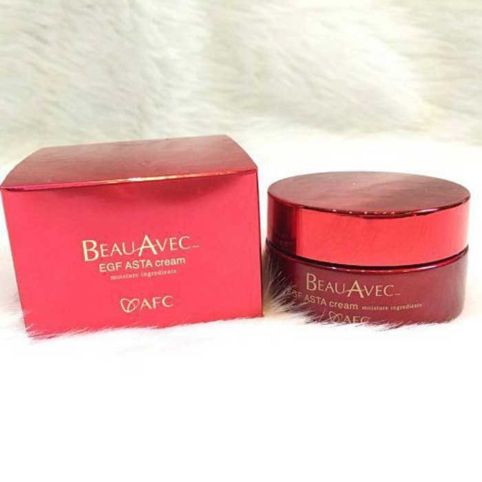 Kem dưỡng đêm tế bào gốc AFC Beau AVEC EGF Asta Cream 30g