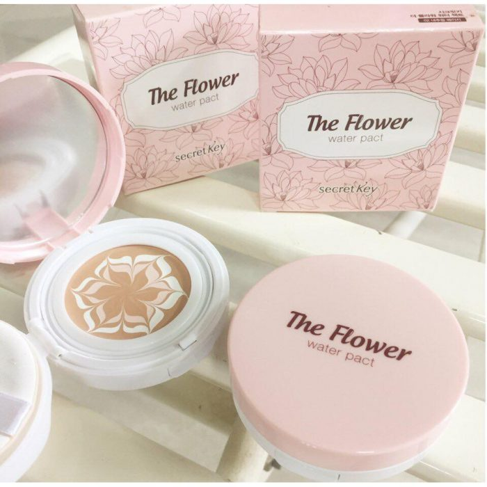 Phấn tươi Secret Key The Flower Water Pact SPF50+ PA+++