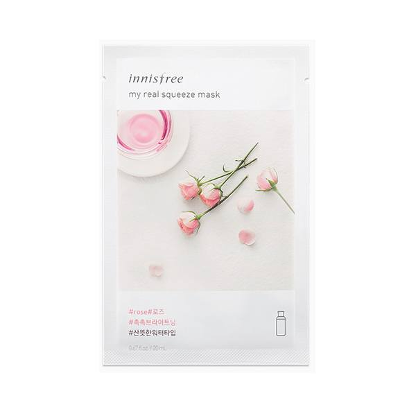 Mặt Nạ Giấy Dưỡng Ẩm Innisfree My Real Squeeze Mask