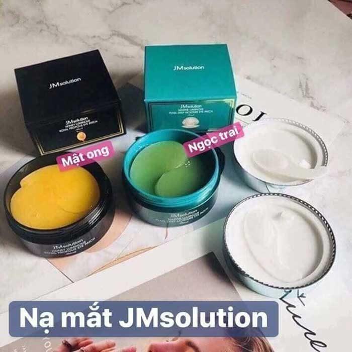 Mặt nạ mắt JM Solution Honey Luminous Royal Black