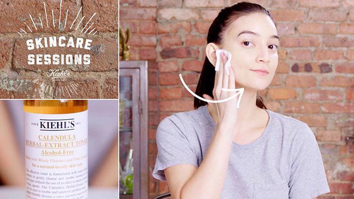 Kết quả hình ảnh cho Nước Hoa Hồng Hoa Cúc Kiehl's Calendula Herbal Extract Alcohol-free