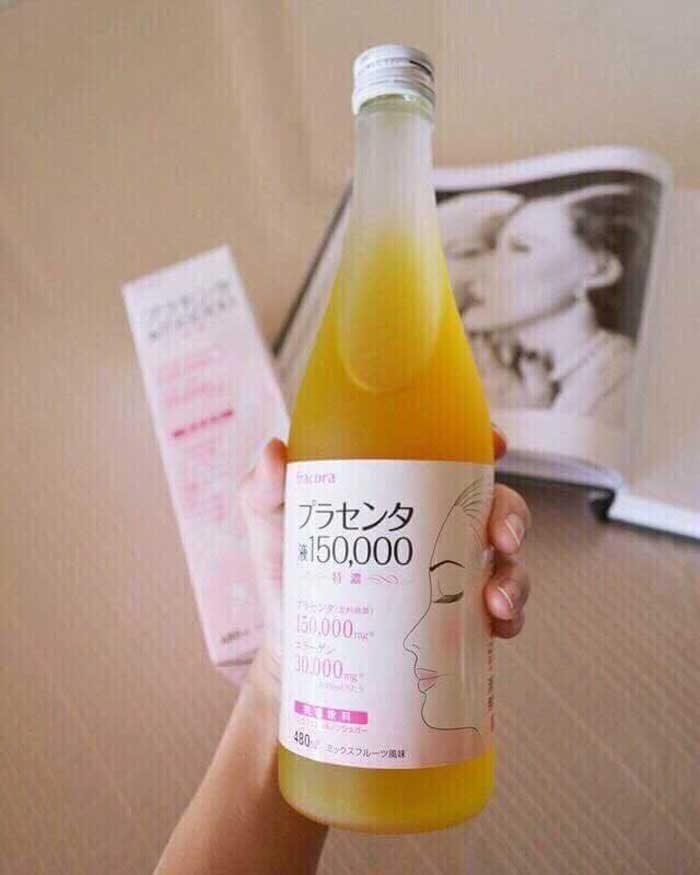 Nước uống nhau thai collagen Fracora Placenta 150.000mg