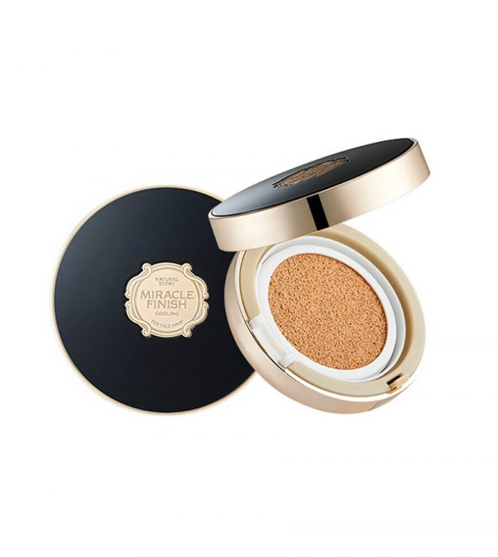 Phấn Nước Cushion The Face Shop Miracle Finish CC Cooling