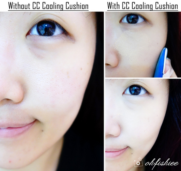 phan-Phấn Nước Cushion The Face Shop Miracle Finish CC Cooling