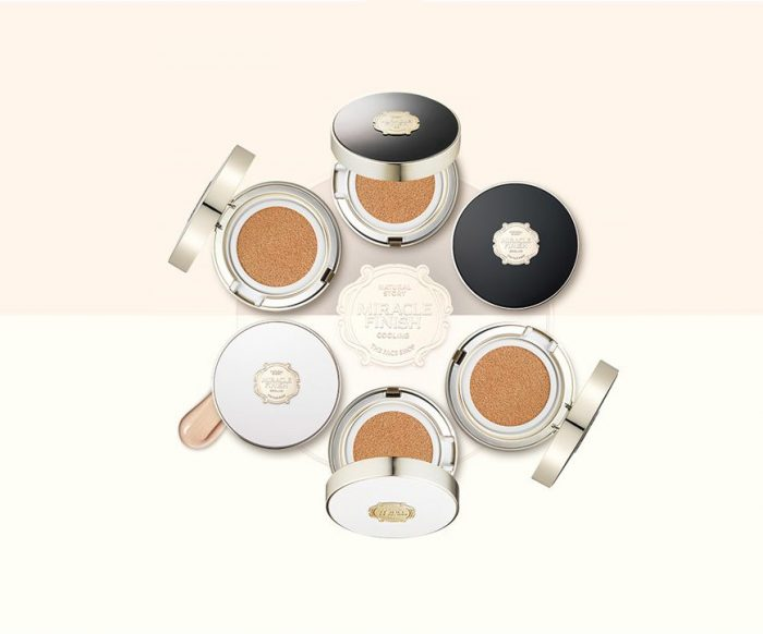 Phấn Nước Đa Năng The Face Shop Miracle Finish CC Long Lasting Cushion SPF50+ PA+++