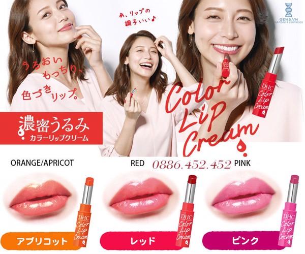 Son Dưỡng DHC Pure Color Lip Cream Stick