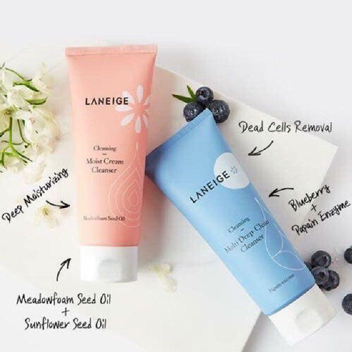 Sữa Rửa Mặt Laneige Multi Deep-Clean Cleanser