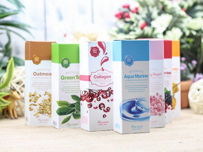 Sữa rửa mặt Pure Mind Premium Cleansing Foam