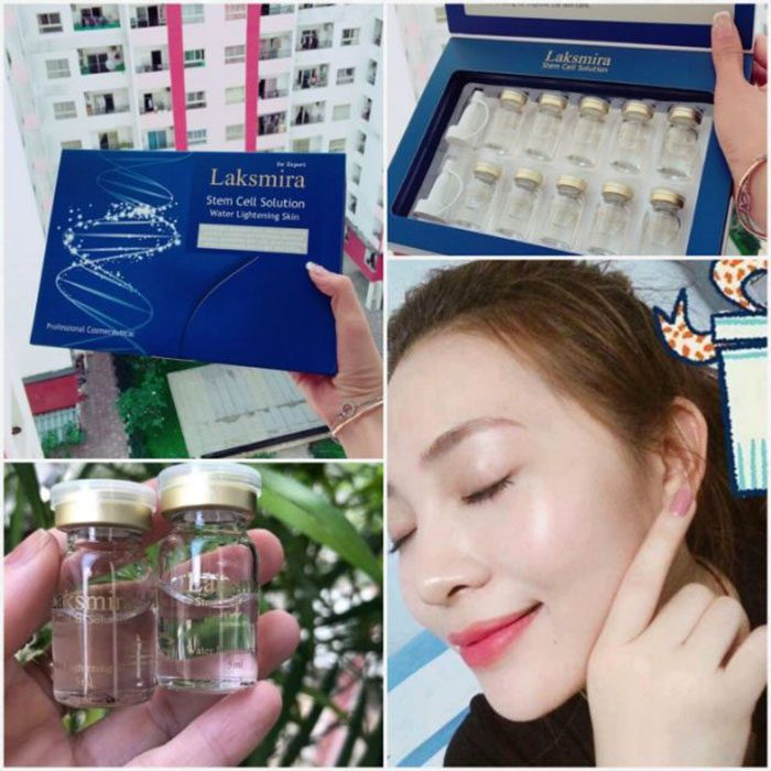Tế bào gốc Laksmira Stem Cell Solution Water Lightening Skin