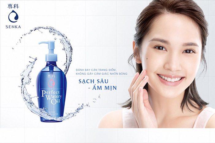 Dầu tẩy trang Shiseido Senka Perfect Watery Oil