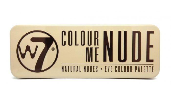 Bảng phấn mắt W7 Colour Me Buff Natural Nudes Eye Colour Palette