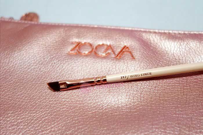 Bộ cọ trang điểm Zoeva 8 cây rose golden luxury set