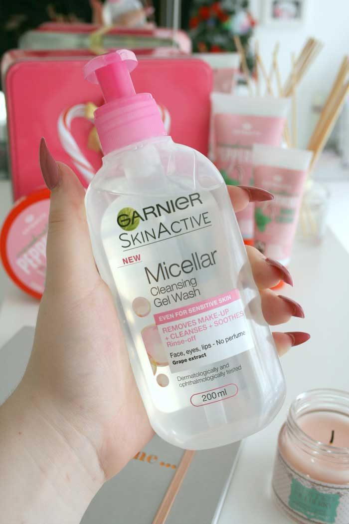 Gel Rửa Mặt Garnier Skinactive Micellar Cleansing Gel Wash
