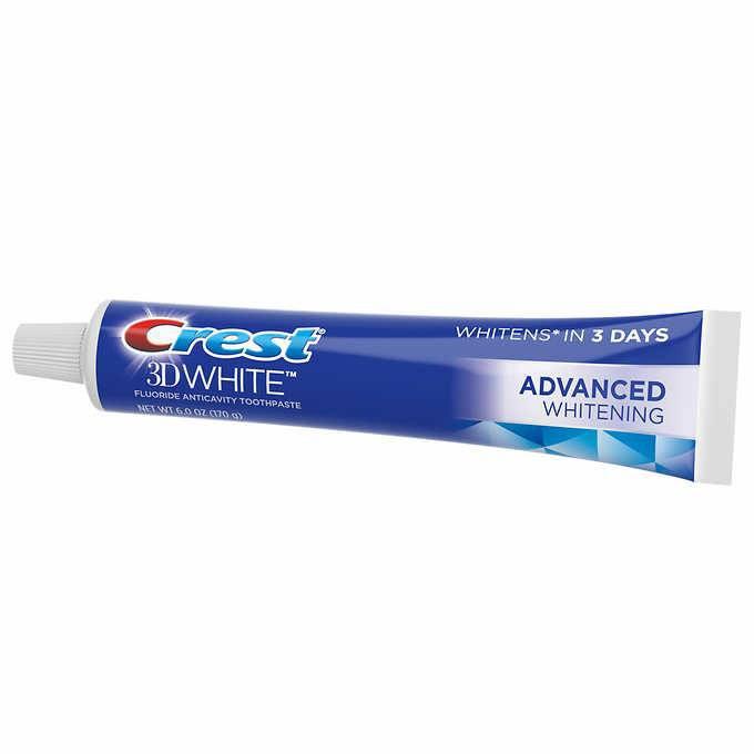 Kem đánh răng Crest 3D White Radiant Mint Flavor Whitening