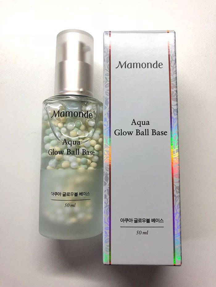 Kem Lót Mamonde Aqua Glow Ball Base 50ml