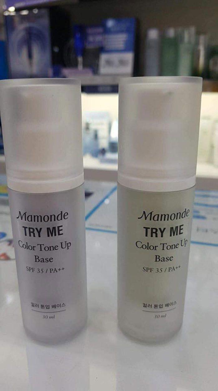 Kem Lót Mamonde Color Tone Up Base SPF 35/PA ++