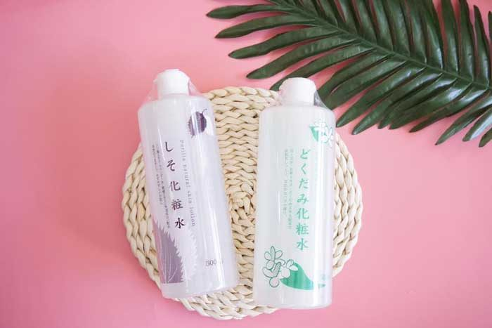 nước hoa hồngtía tô perilla natural skin lotion
