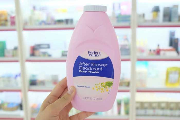 Phấn rôm Perfect Purity After Shower Deodorant Body Powder