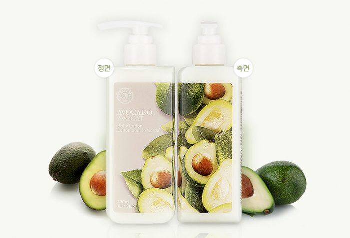 Sữa dưỡng thể The Face Shop AVOCADO BODY LOTION