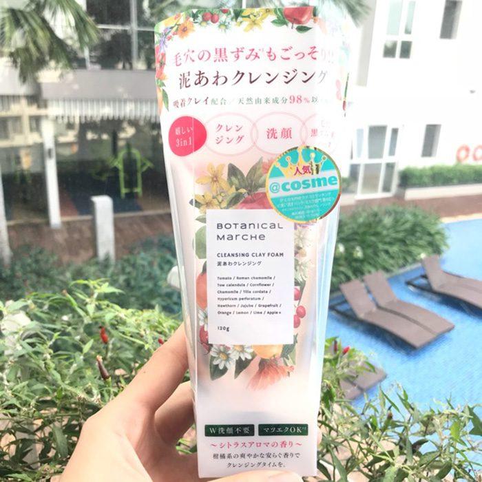 Sữa rửa mặt Botanical Marche Cleansing Clay Foam 3 in 1