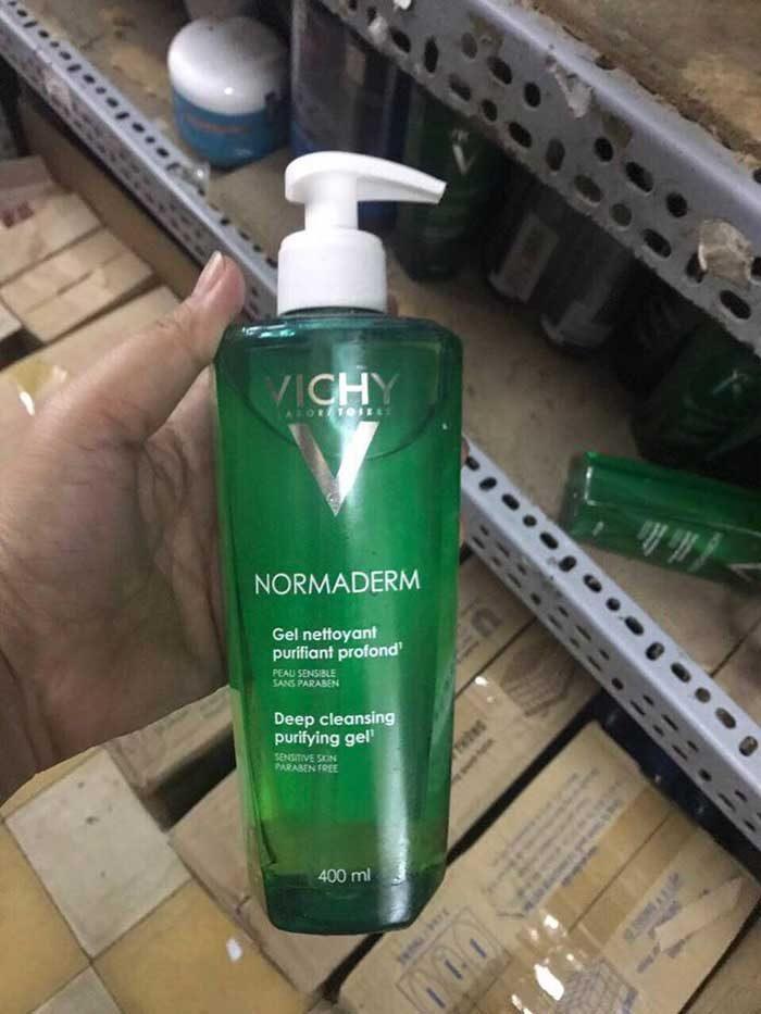 Sữa rửa mặt Vichy Normaderm Deep Cleansing Purifying Gel